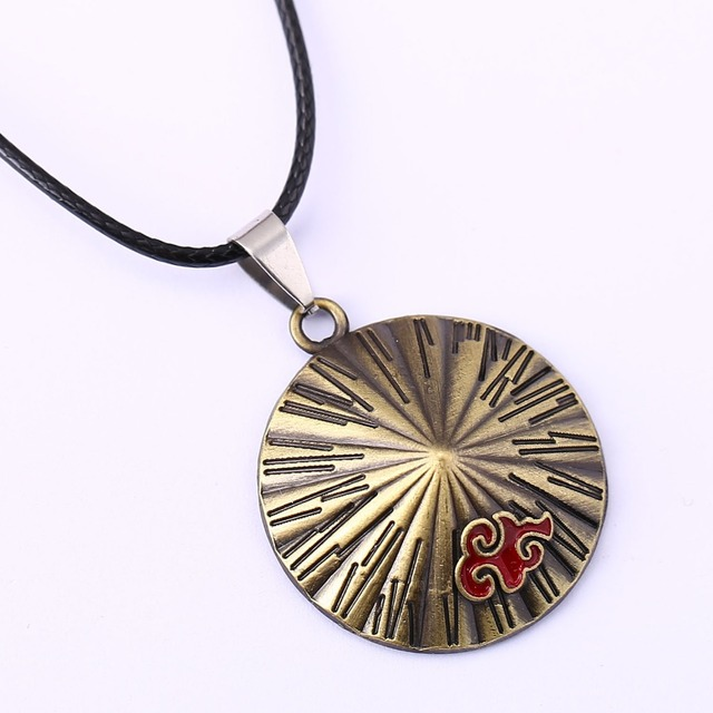 Naruto Men Women Akatsuki Pendant Necklace