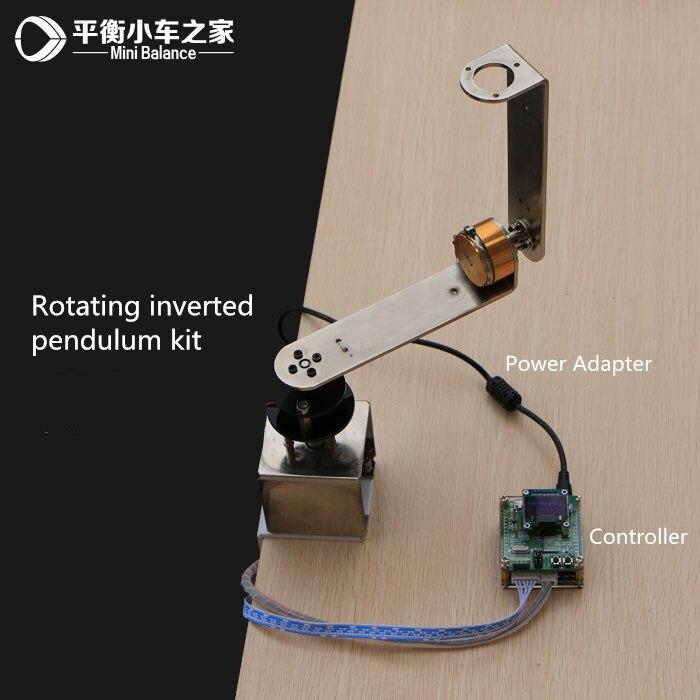 หมุน inverted pendulum First order circumferential inverted pendulum PID อิเล็กทรอนิกส์วงจรการออกแบบแหล่งจ่ายไฟ-ใน ชิ้นส่วนและอุปกรณ์เสริม จาก ของเล่นและงานอดิเรก บน   1