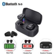 Wireless Headset Bluetooth 5.0 Earphone A7 TWS Stereo Sports Handfree Earbuds Wi