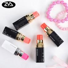 Купить с кэшбэком 1 x creative Lipstick correction tape Kawaii stationery Learning office appliance escolar child cute gift Free shipping