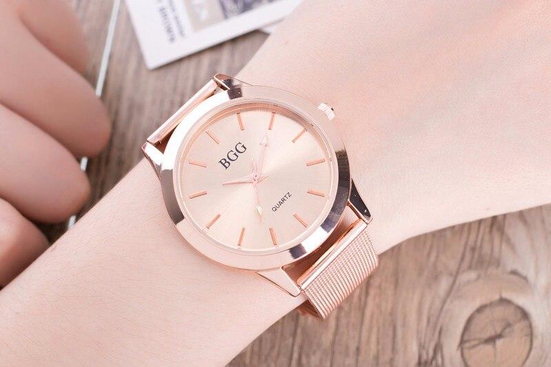 Ladies Dress Watch - rose gold