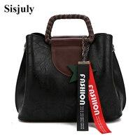 Sisjuly 2017 New Designer Tassel Tote Crossbody Bags For Women Handbag Large Capacity Shoulder Messenger Bag