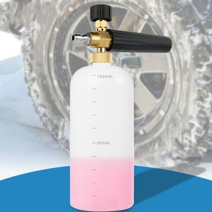 """Image 4 - Carro foamer lavagem jet garrafa 1/4 """"espuma de neve lança canhão lavadora arma sabão pressão"""