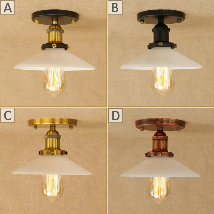 Ceiling Lamp Decorative: Vintage Metal Ceiling Lamps Iron Light Fixtures Country