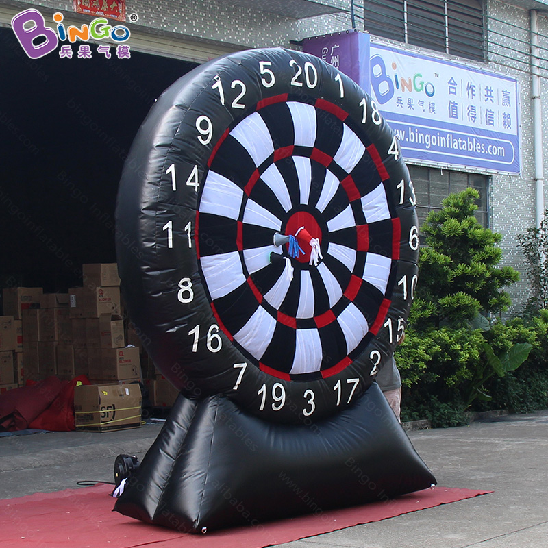 8.2ft X 9.8ft inflatable dart board stands / giant inflatable dart board / dart board cabinet with fan toy sports tsuyoki dart 80f 113