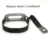 Milanese Loop Strap Smart Metal Strap For Xiaomi Mi Band 2 Stainless Steel Bracelet For Miband