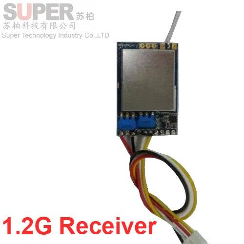 Cctv аксессуары беспроводной приемник CCTV безопасности плесень 1.2 Г RX приемник 1200 мГц CCTV передатчик приемник 1.2 Г FPV передатчик