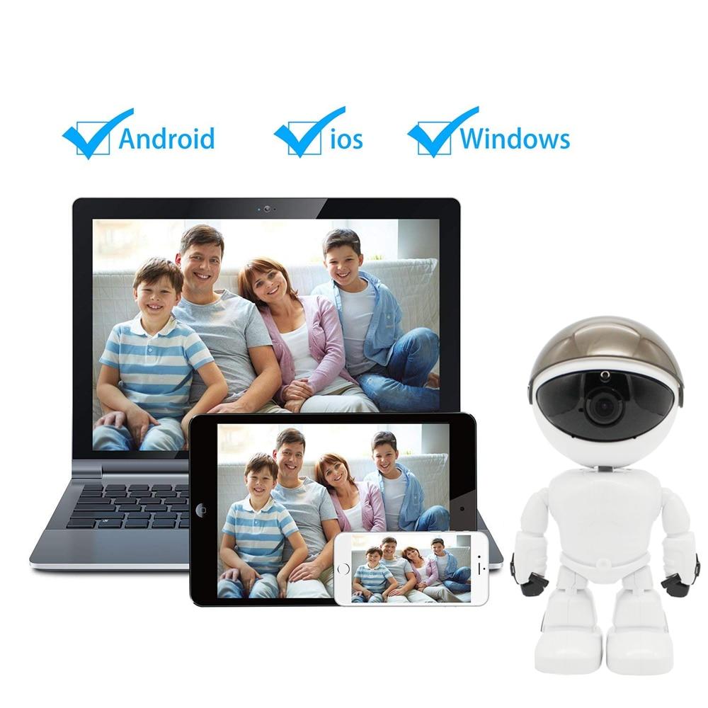 Robot WIFI Wireless IP Camera 16