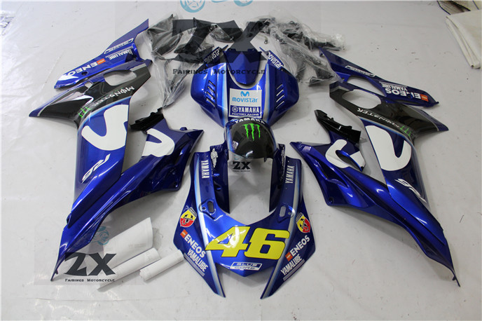 Abs full fairing kit fit for yamaha injection molding yzf r6 2006