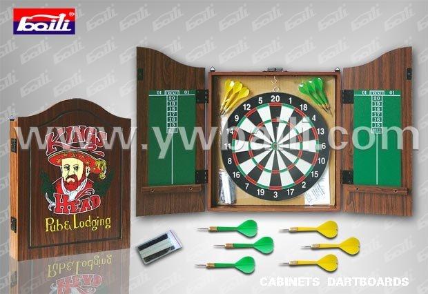 Dartbord Met Kast : Papier dartbord kast in papier dartbord kast van darts op