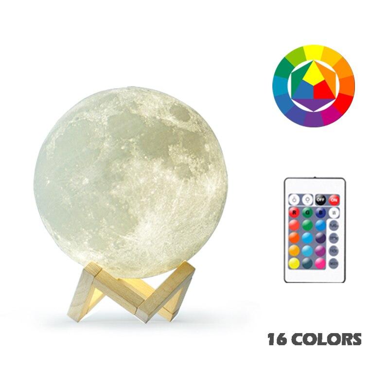 Colorful Moon Lamp 4