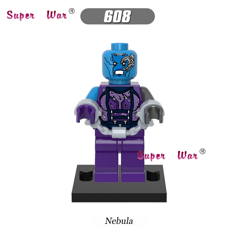 1PCS star wars building blocks Guardians of the Galaxy Nebula action sets model bricks toys hobbies for children