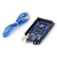 Hot 3D Printer Parts MEGA2560 Mega 2560 R3 ATmega2560 16AU CH340G Placa USB Compatible