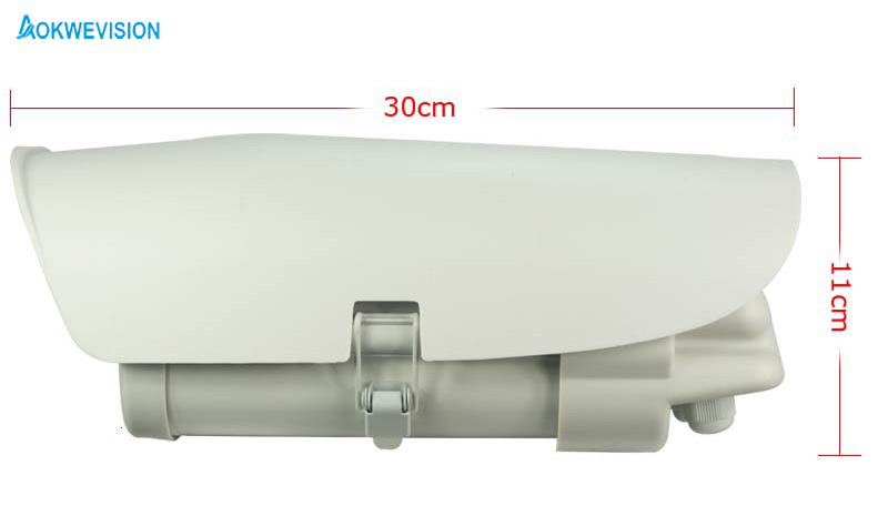 Onvif 1080P 2MP 5-50mm linse Køretøjer Licensnummer - Sikkerhed og beskyttelse - Foto 2