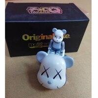 50% мрачный медведь Медиком игрушка OriginaFake Be @ rBrick мини Tommy автомобиль набор ПВХ фигурку Модель игрушки G1658