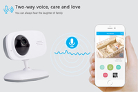 2018 new style WIFI smart baby monitor Baby Phone Alarm Kids Radionana Intercoms Radio Nanny Babysitter
