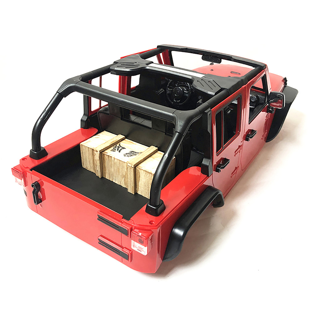 Modified Convertible For Wrangler Jeep Body Shell Roll Bar for 1/10 Axial SCX10 II 90046 313mm Wheelbase RC Crawler Car Parts|Replacement Parts & Accessories| - AliExpress