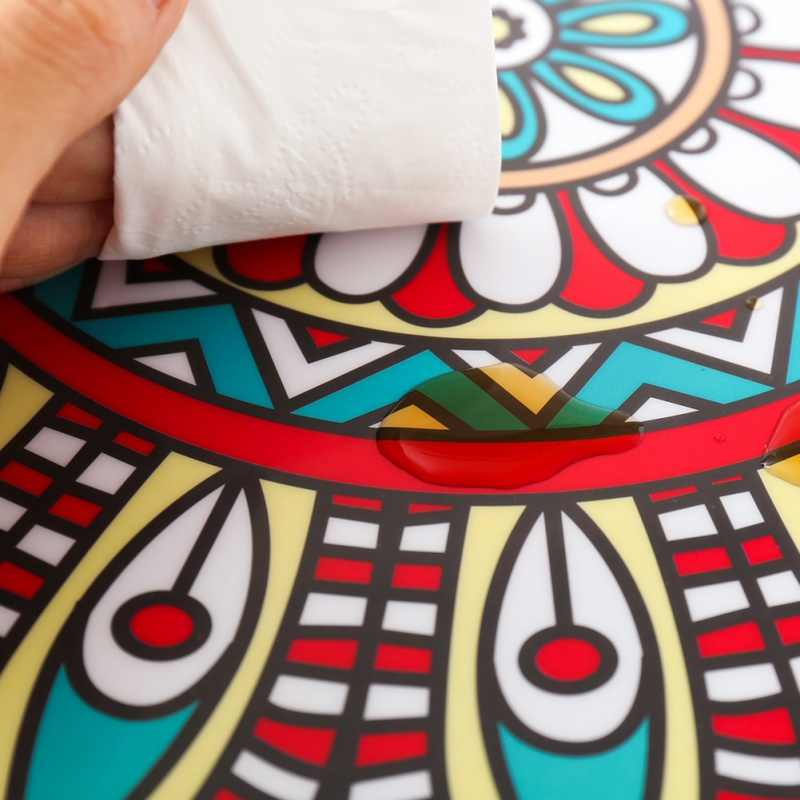 DIY Mozaïek Wandtegels Stickers Marokkaanse Stijl Taille Lijn Muur Sticker Keuken Zelfklevende Badkamer Wc Waterdichte PVC Wallpapers