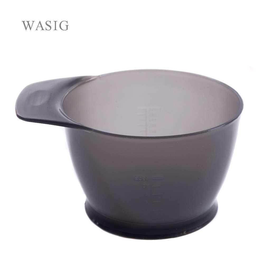 1Pcs Large Capacity Hairdressing Bowl Professional Salon Hair Color Dye Tint Bowl Coloring Mixing Suction Bowl
