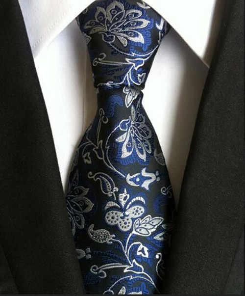 130 style klasyczne 8 Cm krawat dla człowieka 100% krawat jedwabny luksusowe paski biznes krawat dla mężczyzn garnitur krawat ślub krawat na imprezę