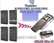 Tedsen SKX1MD,Tedsen SKX2MD,Tedsen SKX3MD,Tedsen SKX4MD compatible repalcement garage door remote control