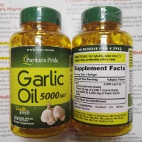 Garlic Oil 5000 Mg 250 Pcs Free Shipping