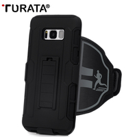 Turata 3 In 1 Armband Phone Case Phone Holder Waterproof Running Arm Band Phone Holder For