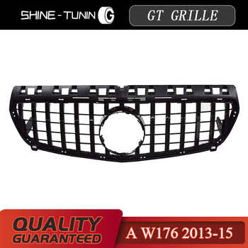 Front grille Suitable for mercedes A Class W176 A45 GT GTR Grill A45 A180 A200 A260 Grille 2013-15 without emblem