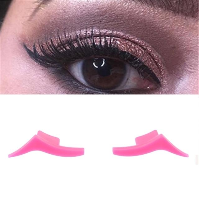 2pcs Stamps Easy To Makeup Vamp Stamp Eyeliner Stamp Tool Makeup