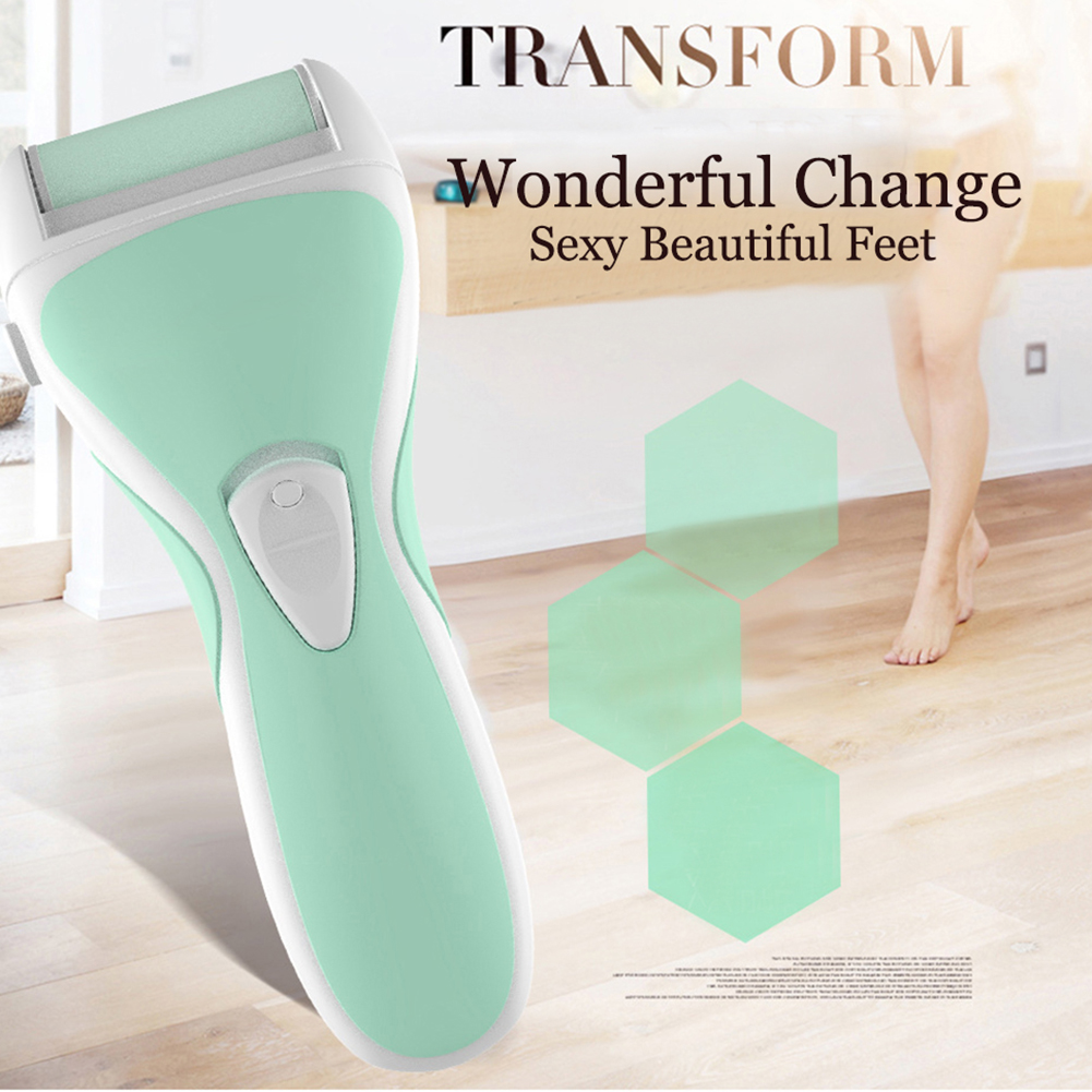 New 2 in 1 USB Charging Foot Pedicure Repairer Feet Care Tool Dead Skin Exfoliating Removal Pedicure Summer Gift Suite