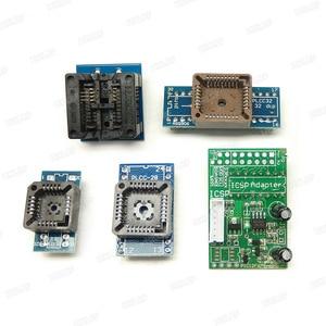 Image 4 - オリジナルユニバーサル RT809H EMMC NAND フラッシュプログラマ + 16 アイテムとパイロットケーブル EMMC Nand 送料無料