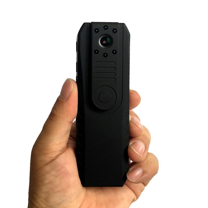 Night Vision mini bezprzewodowy WiFi kamera z 1.5 cal ekran Novatek 96650 ciała policji kieszonkowy aparat rejestrator pętli Mini DV DVR w Minikamery od Elektronika użytkowa na AliExpress - 11.11_Double 11Singles' Day 1