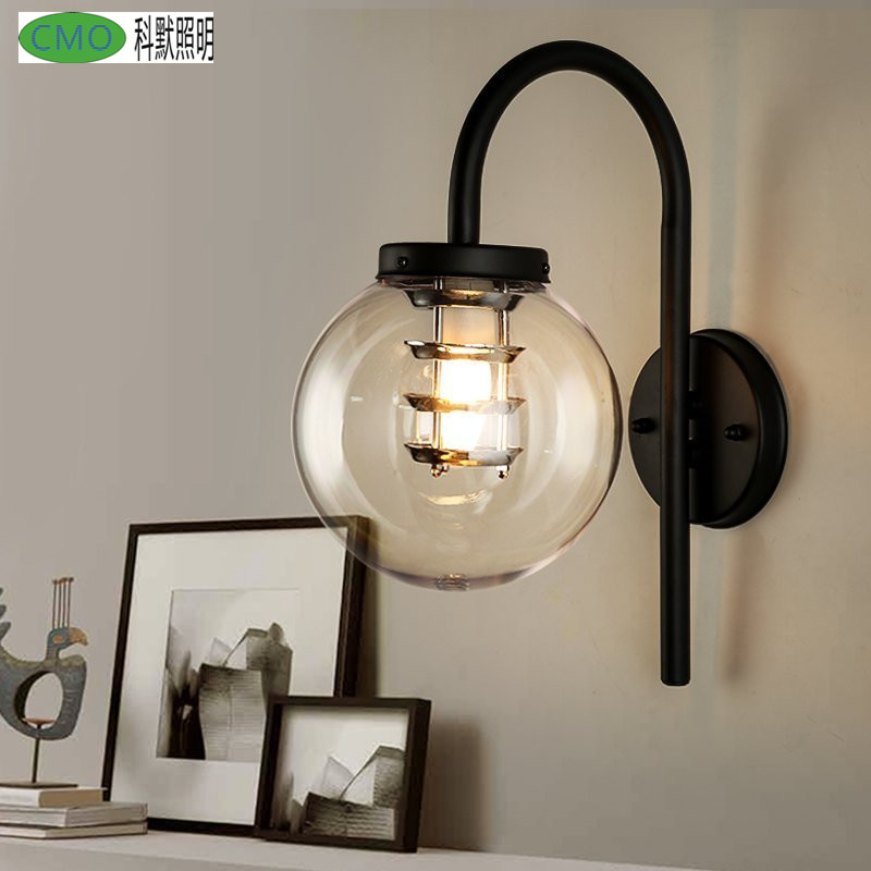 Modern Wall Lamp Acrylic Sconce Luminaire Ball Light Luminaria Abajur For Outdoor Balcony  Light E27 Base Home Lighting Lamparas modern lamp trophy wall lamp wall lamp bed lighting bedside wall lamp