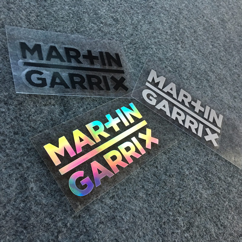 Ehrlichkeit Musik Dj Martin Garrix Mashmellon Hologramm Aufkleber Einzigartige Laser Decals Cosplay Aufkleber Laptop Stamm Bike Aufkleber Drei Farben Letzter Stil