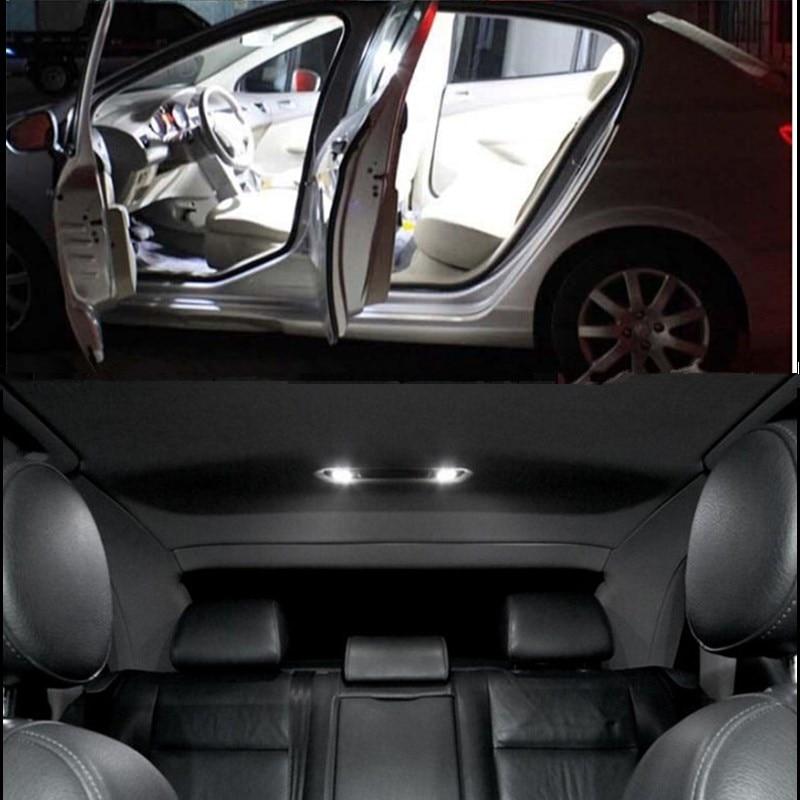 Set başına 19 adet mükemmel canbus Audi A4 S4 B8 için Avant LED - Araba Farları - Fotoğraf 1