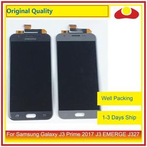 "Image 1 - Pantalla LCD Original de 5,0 ""para Samsung Galaxy J3 Prime 2017 J3 EMERGE J327 con Panel digitalizador de Pantalla táctil completa"