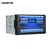 Vehemo Car MP5 Player 7 Inches 2 Touch Screen Car Bluetooth Support FM USB TF Card