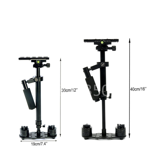 S40 40CM Camera Handheld Stabilizer Steadicam Kit For Video Camcorder DV DSLR Camera US For Iphone 6 7 For GoPro HERO5