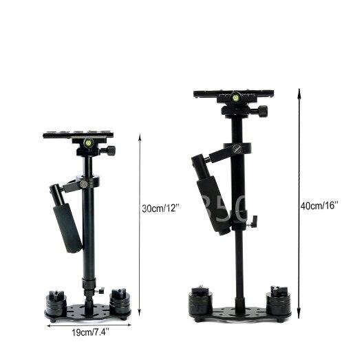 S40 40 CM Caméra De Poche Stabilisateur Steadicam Kit pour Vidéo Caméscope DV Dslr US pour Iphone 6 7 pour GoPro HERO5