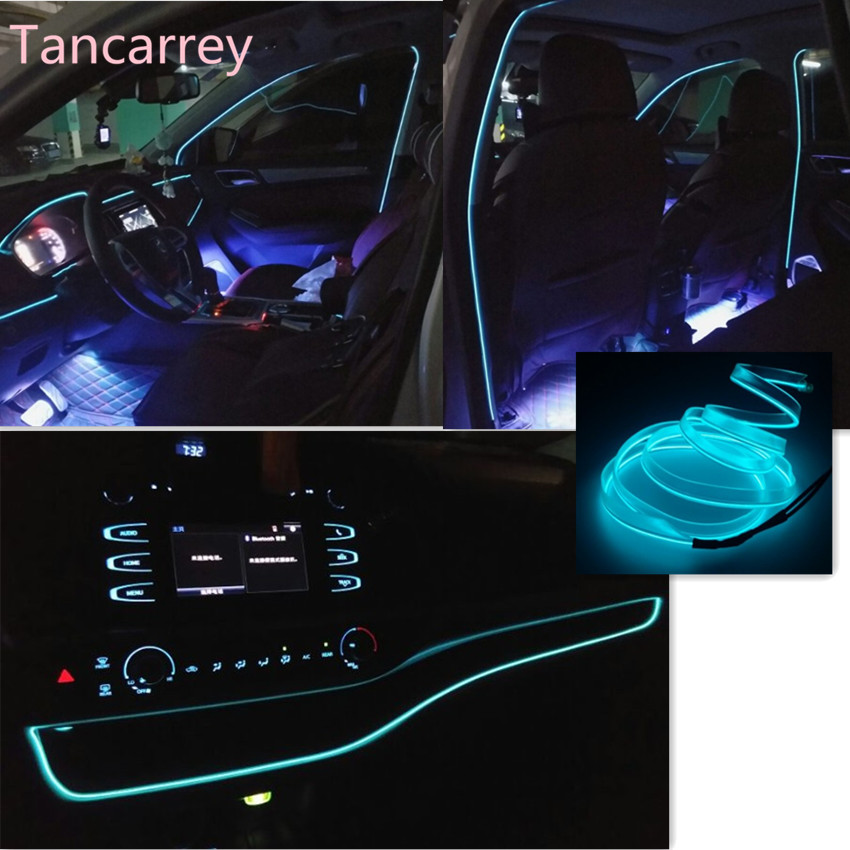 Car styling luminous decorative strip for vw golf 4 golf for Mercedes benz b5 service cost