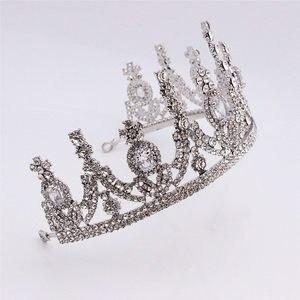 Image 4 - AAA стразы Корона для королевской королевы свадебные тиары короны принцесса диадема повязка на голову Свадебные украшения для волос конкурс головной аксессуар