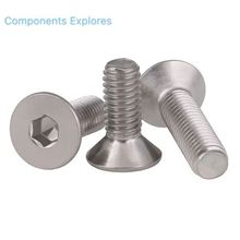 Stainless Flat Head Bolts M8