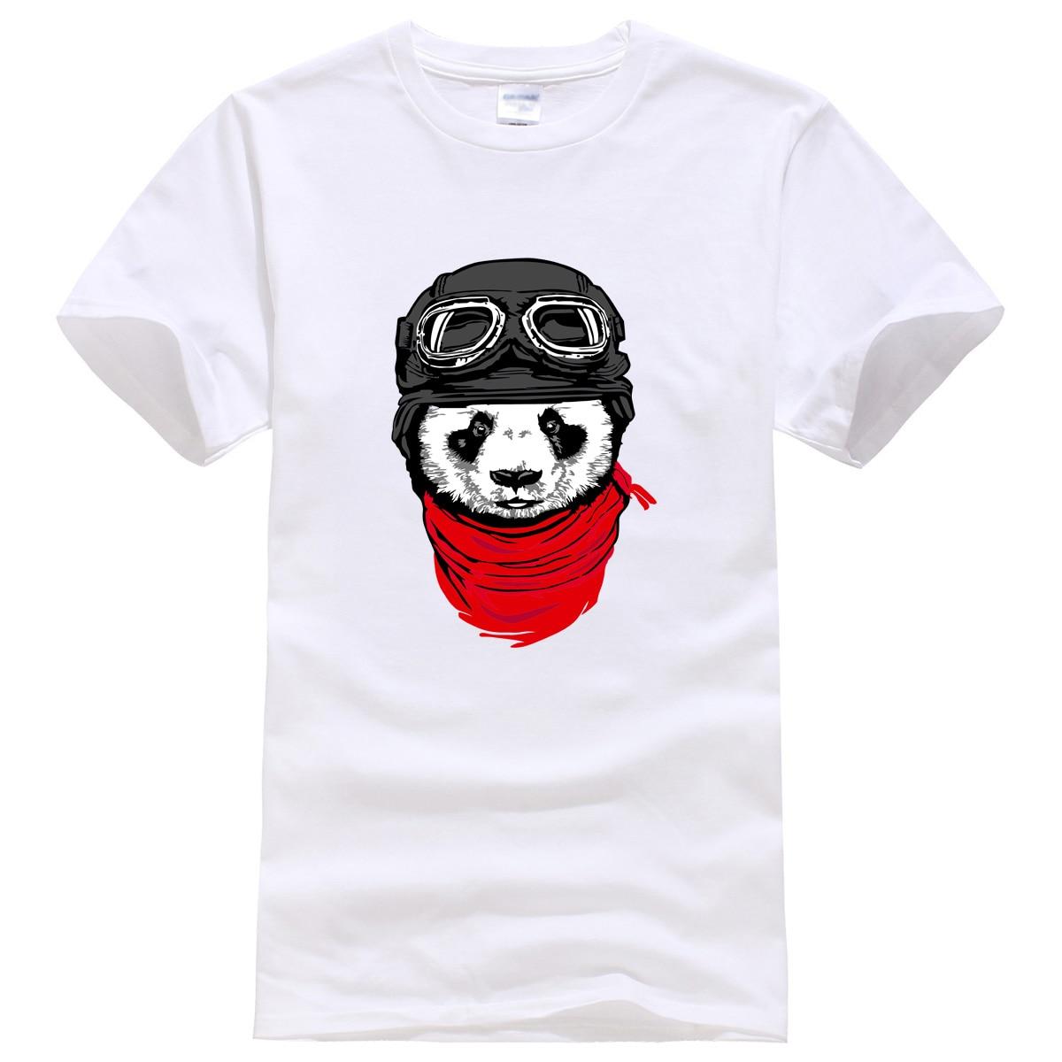 New hot 2019 men's T-shirts fashion short sleeve cute panda printed t-shirt Harajuku funny tee shirts Hipster O-neck cool tops