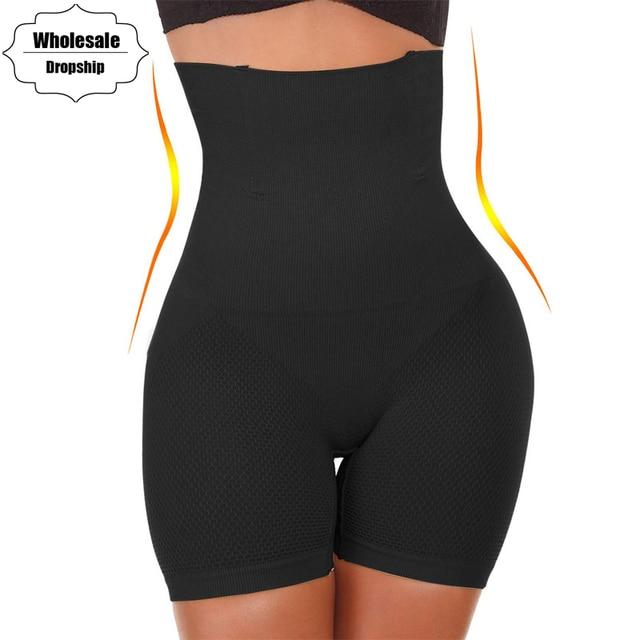 e3f640d48e3 NINGMI Women High Waist Trainer Tummy Control Panties Knickers Slimming Pant  Butt Lifter Shapewear Pulling Underwear Body Shaper