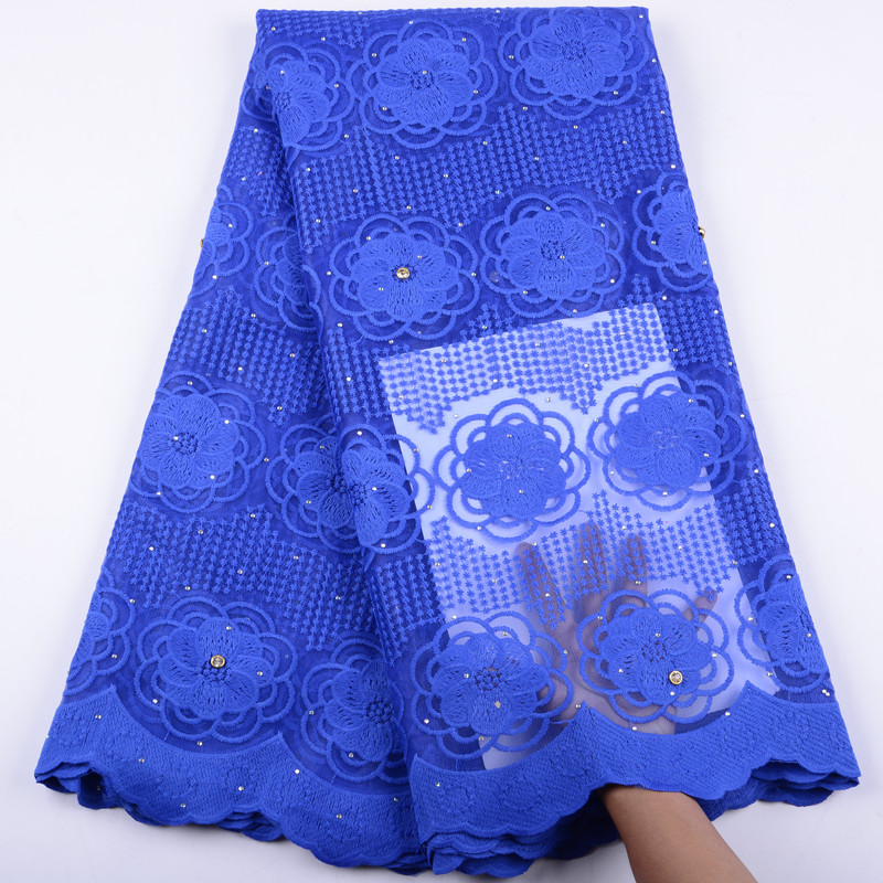 High Quality French Lace Fabric With Beaded Floral Lace Nigerian French Fabric Trimming  Lace African Tulle Lace Fabric 2019
