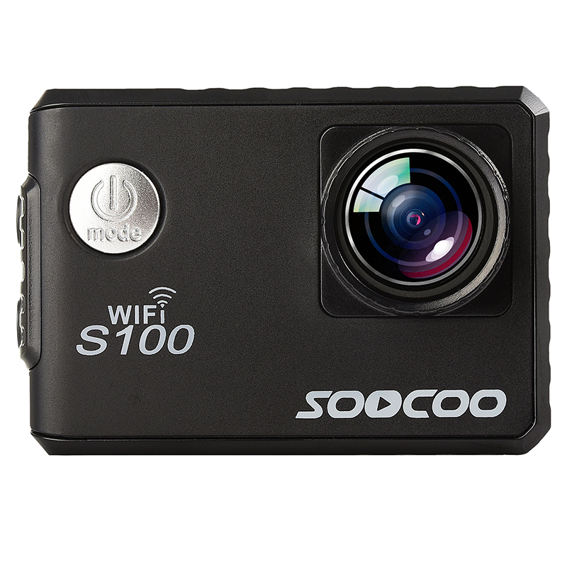 SOOCOO C100 4k WIFI Outdoor Sport Action Camera Built-in Gyro UHD 30m Waterproof DV Camcorder 20MP Diving Sport Camera 4k 30fps action camera wifi 1080p uhd 2 0 lcd screen 30m waterproof diving 170 degree sport action camera dv camera