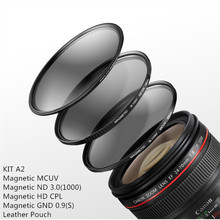 B.way Landscape Photography Standard Kit A Series including Magnetic MCUV,HD CPL,ND3.0,GND0.9 Filters