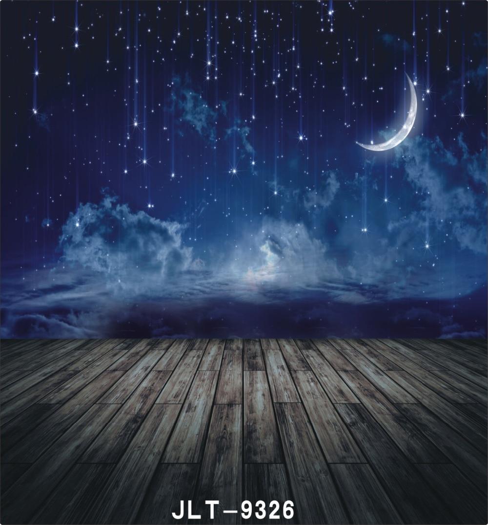 Night Scene Starry Sky Valentine S Photo Background For