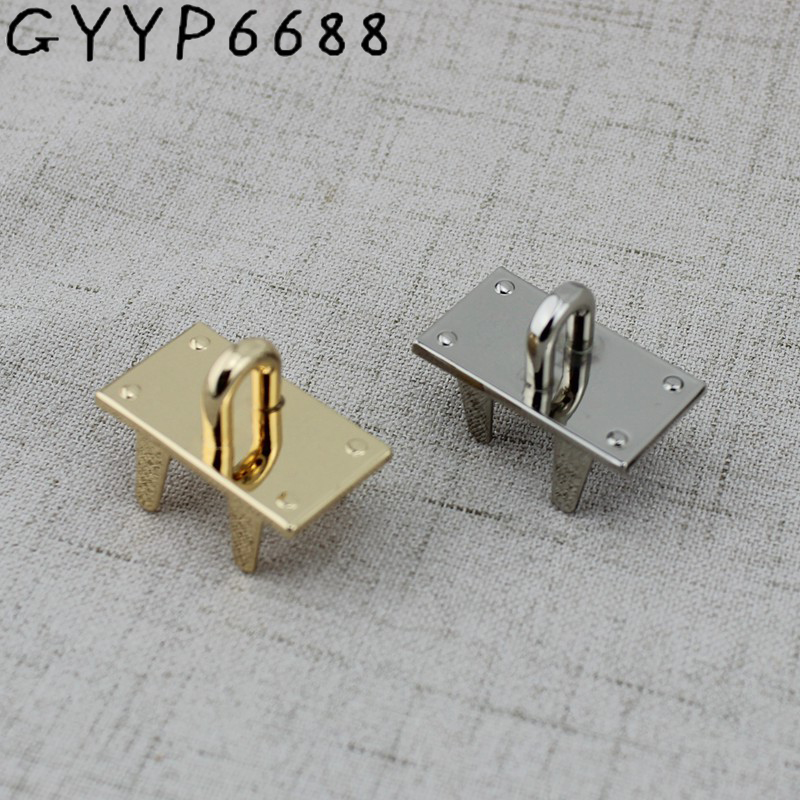 10pcs High Quality Luggage Hardware Handbag Hardware Accessories Leather Bag Alloy Arch Bridge  Hanger For Bags Belts Strap