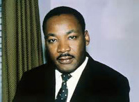 Top Handpainted Art Oil Painting Martin Luther King Jr American Leader In The African American Civil